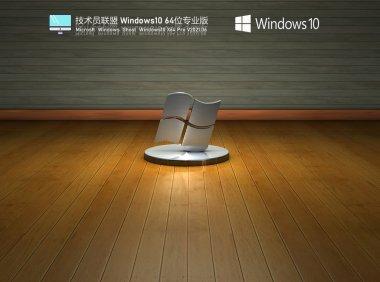 技术员联盟Windows10 21H1 64位专业版 V2021.06